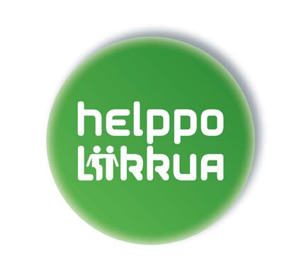 Helppo liikkua kampanjan logo.