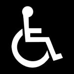 ISA-symboli mustavalkoinen