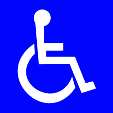 Kansainvälinen ISA-symboli (International symbol of access)