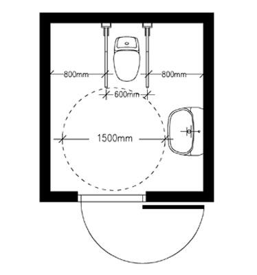 Yleinen esteetön wc | Yleinen esteetön wc | Invalidiliitto