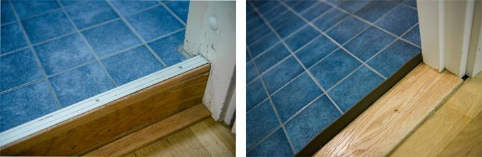 Esimerkki 1980-luvulla valmistuneen kerrostaloasunnon kylpyhuoneen korjaustöistä.
