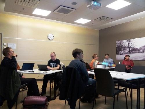 Yritystä!-hankkeen mentorointikoulutus menossa