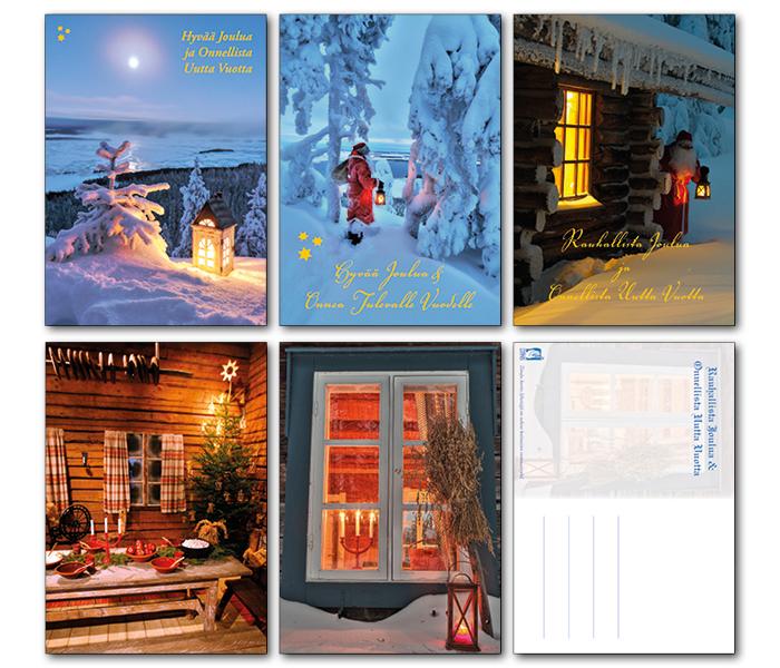 Kuva joulukorteista
