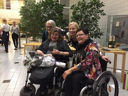 Vammaisjärjestöjen naisverkosto juhlisti 15. toimintavuottaan