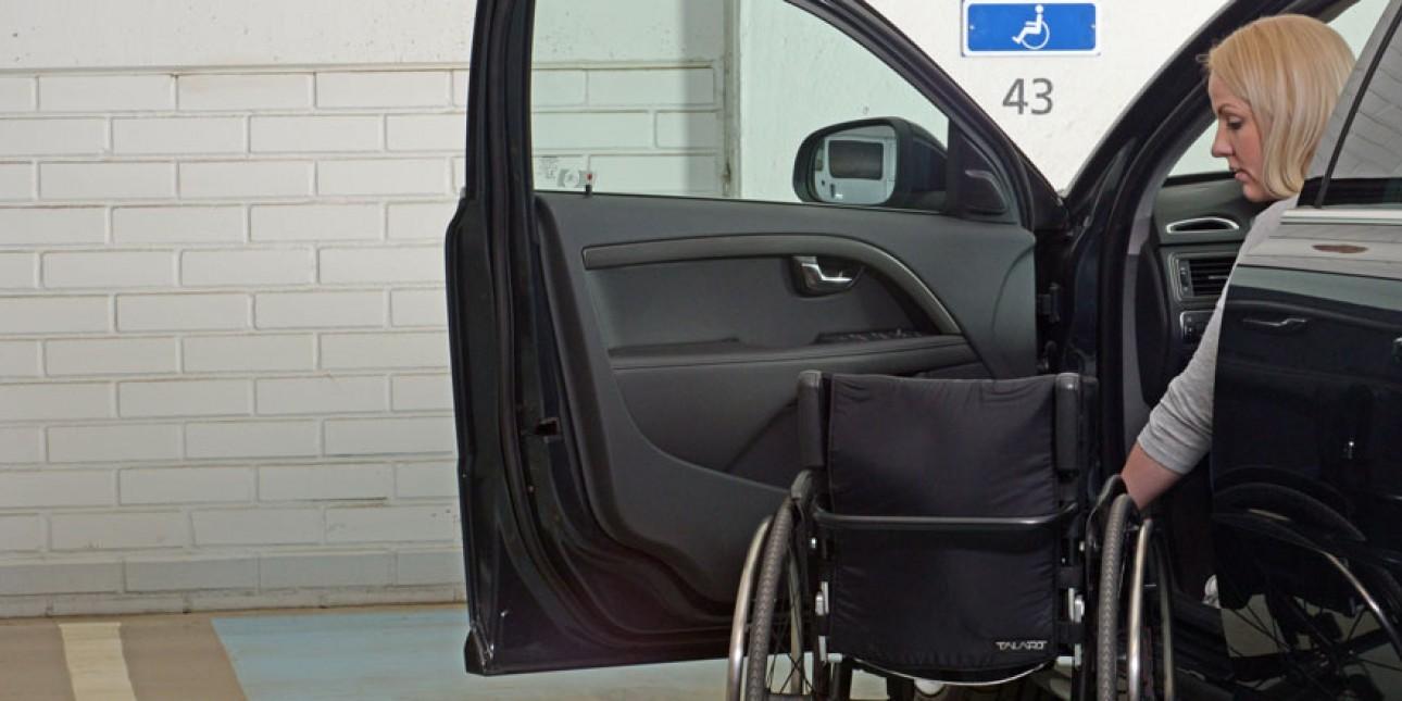 Trafi Vammaisen Pysäköintilupa